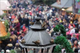 В эти праздничные дни Нюрнберг посещает около 2 млн. посетителей - жителей Германии и туристы со всего мира. В выходные это очень заметно)))