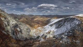 Хакасия, Саянский перевал.