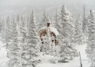 01 В начале декабря 2020 года на гору Зеленой приехали мы, а через день – затяжные метели и снегопады)