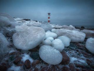 Терский берег, Белое море. Кольский полуостров.