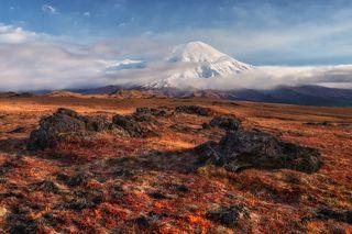 Вулкан Толбачик.