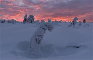 Красочный восход