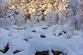 Морозный день на Колвице