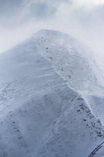 Говерла, западный склон, 2061м  высшая точка Украины