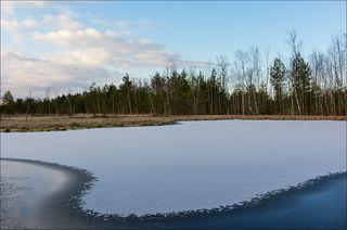 Припорошенный лёд