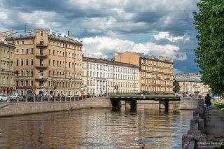 Канал Грибоедова. Аларчин мост.