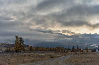 01 Это выразительное облачное утро я начал снимать прямо в посёлке в ожидании выезда