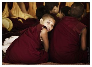 Обучение в монастыре начинается с малых лет. Т.к. необходимо выучить колосальный объем текстов и преобрести невероятно много знаний и умений.