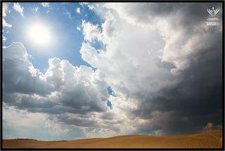 Дюны + Облака + Солнце
