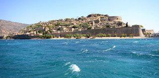 Спиналонга – небольшой остров около Крита, расположенный в области Лассити в заливе Мирабелло, к северу от деревень Плака и Элунда