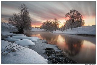 Сонное зеркало реки