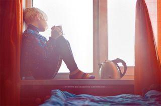 Выпив чашку горячего чая и день наполнится \