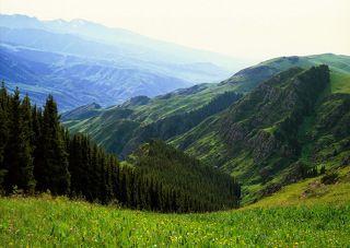 №2. Полуденный зной на высоте свыше 2000 метров. Кто сказал, что днем снимать пейзажи нельзя? ;)