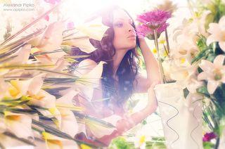 Солнечная в цветах