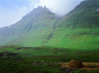 На севере Исландии. СФ слайд Velvia 50