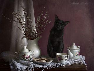 Могу и чаем напоить!