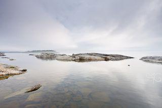 Острова Такионлуодот. Туман на рассвете.