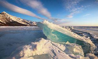 Голубая льдина.