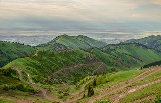 Вид с перевала Кетмень