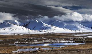 На плато много маленьких озер
