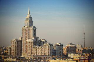 Одна из Московских высоток.