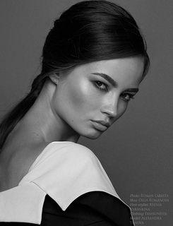 Photo: Roman Labasta Mua: Olga Romanova Hair stylist: Ksenia Varankina Clothing: Fashionista Model: Alexandra Yanova