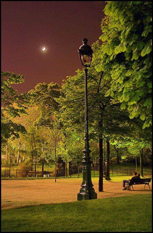 вечер, Париж Уютный вечерphoto preview