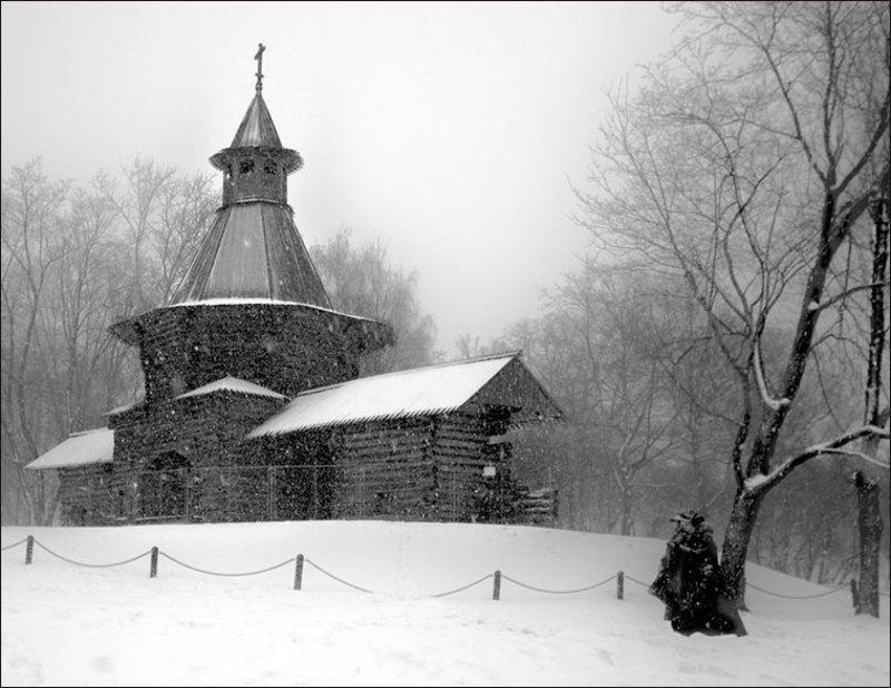 Москва, коломенское, зима, Рождество, снег, mju Рождественскаяphoto preview