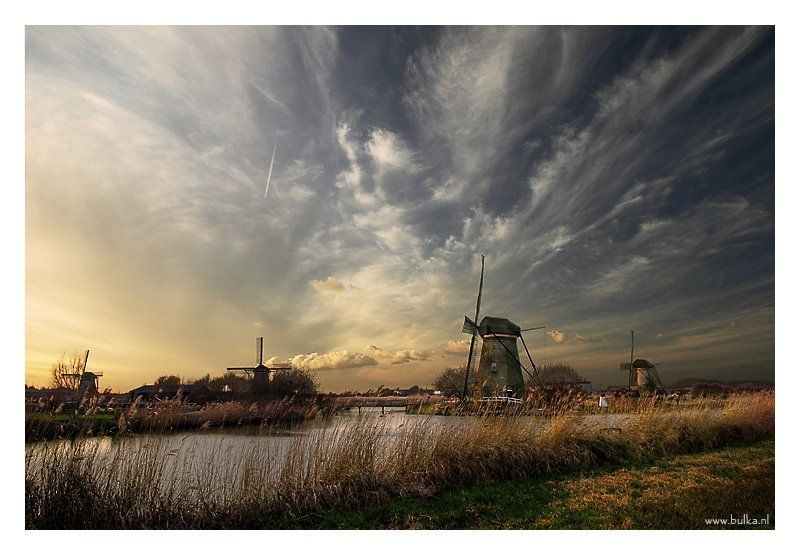 Kinderdijk, Holland По мотивам старых голландцевphoto preview