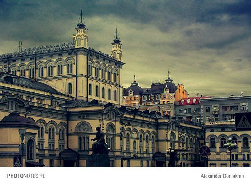 Киев, город, архитектура, путешествия, Украина, HDR, PHOTONOTES.RU Призрак оперыphoto preview