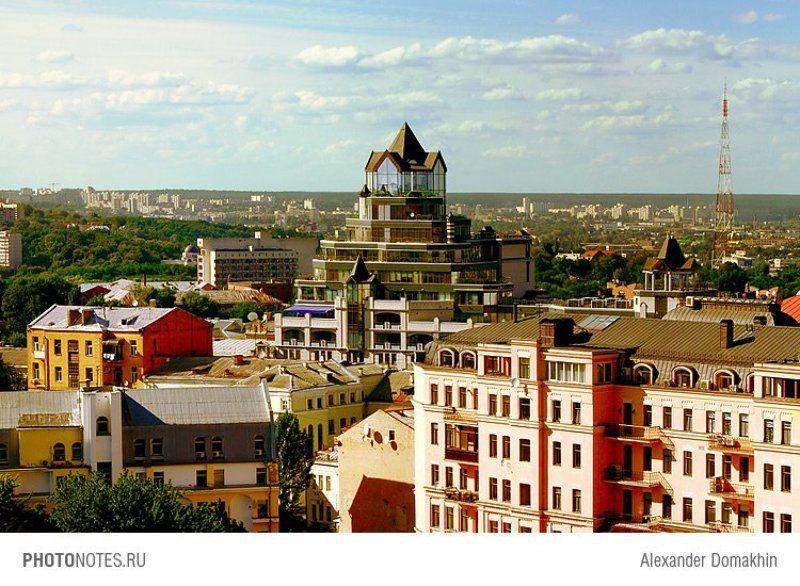 город, пейзаж, Киев, путешествия, Украина, PHOTONOTES.RU ЖАRАphoto preview