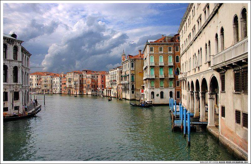 Венеция, Италия, гранд, канал Венеция. Гранд канал #1.photo preview