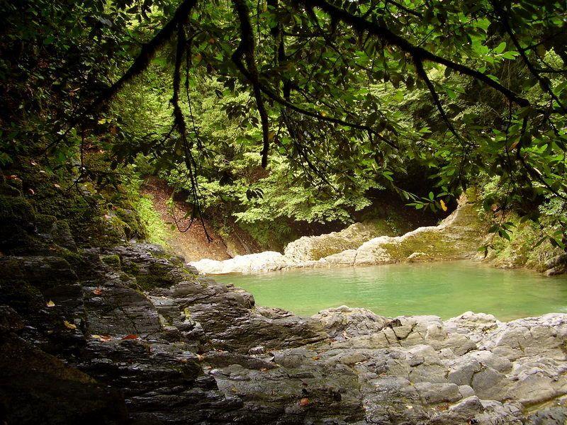озера любви, водопад, лес, сочи Озера любви 2photo preview