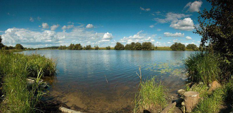 река, дубна, берег ---photo preview
