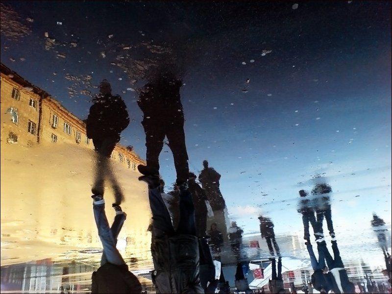 мобилография отражения три вокзала ленин Замороженное времяphoto preview