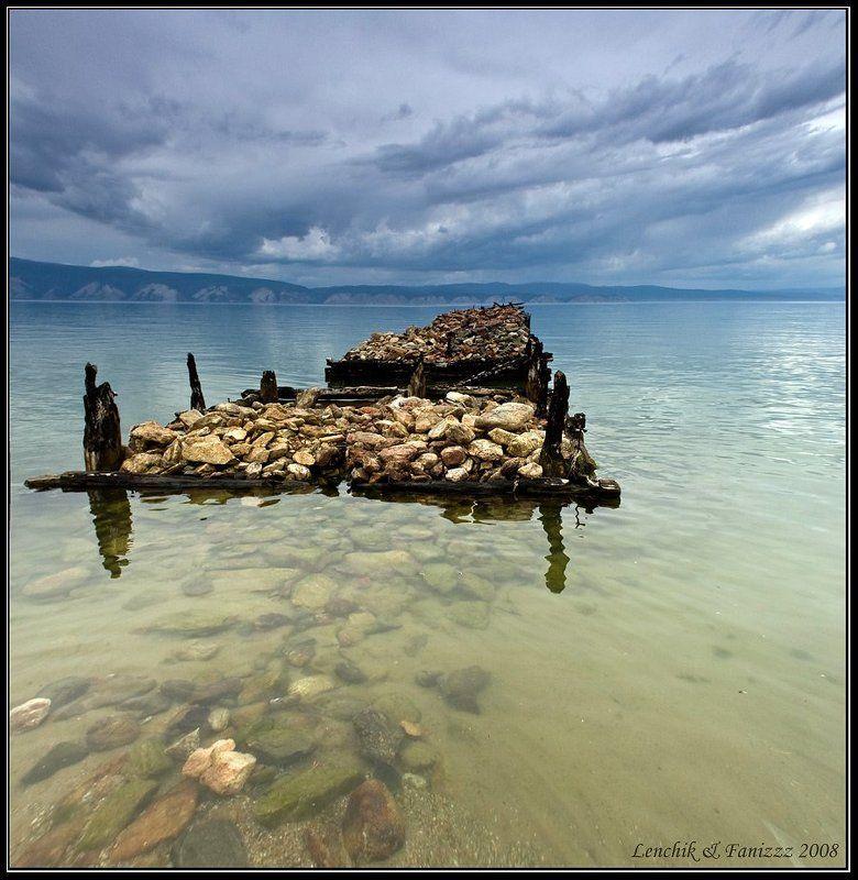 озеро, байкал, остров, ольхон, бухта, песчаная, пирс Несбывшиеся надежды . . .photo preview