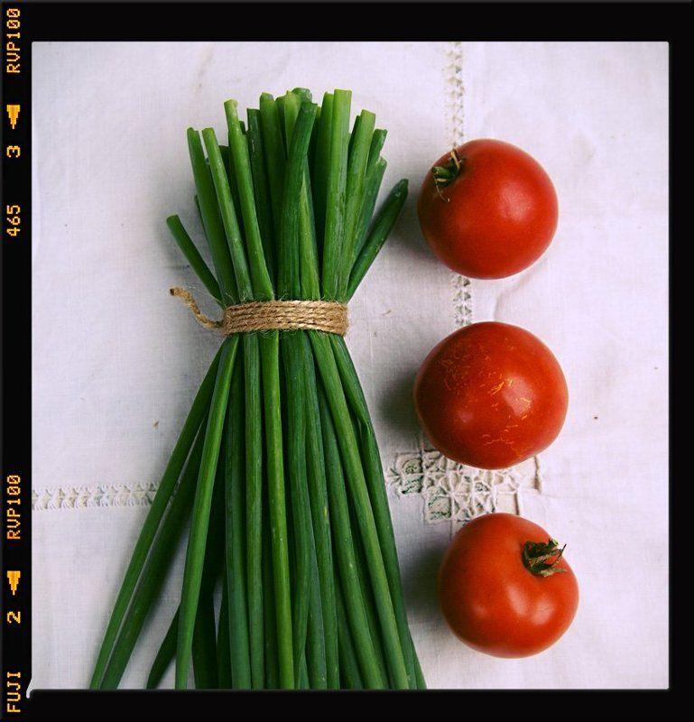 Красно-зеленый этюдphoto preview