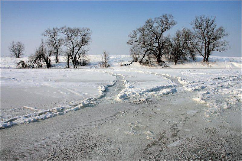 река, москва, зима Берега...photo preview
