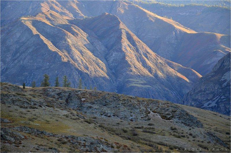 республика алтай, инегень, горы, утро, свет Утро в Алтайских горахphoto preview