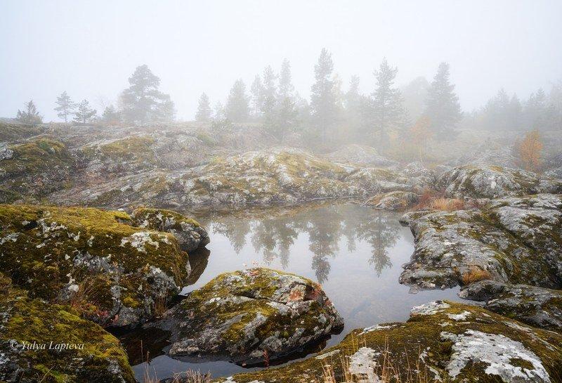 карелия золотая осень,ладожское озеро \