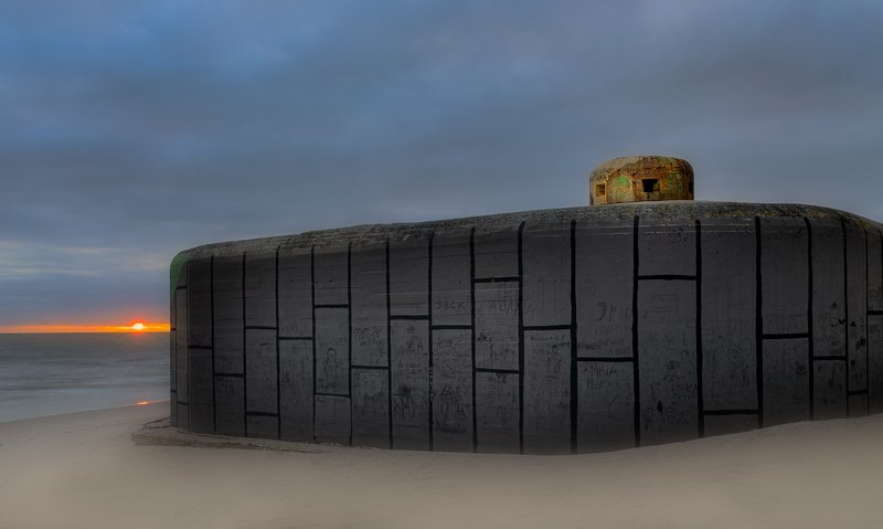 A 1939 bunker in the defense line of Jastarnia.photo preview