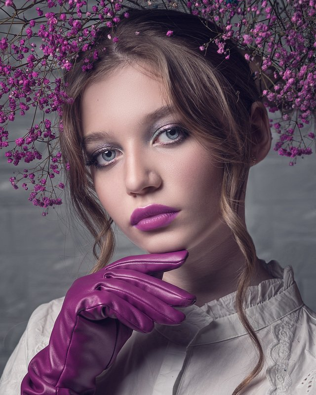 гламур, портрет, девушка, глаза Беллаphoto preview