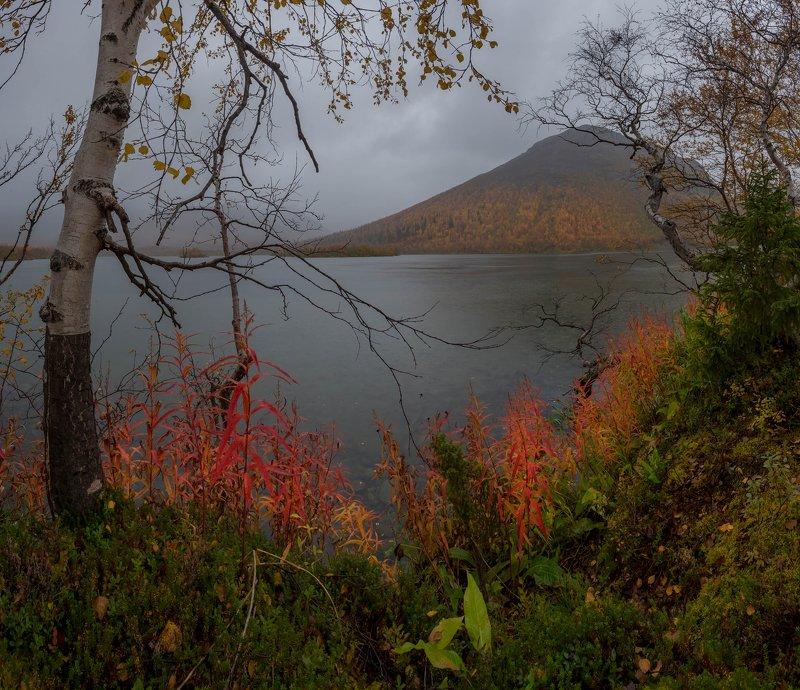 хибины, озеро, кольский, осень, река, выдержка, вудъявр, горы, краски Осень в Хибинахphoto preview