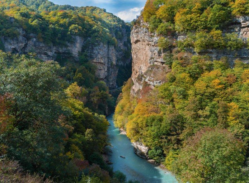 горы, река, чегем, кбр, природа, осень, кавказ, природа, Осень в горахphoto preview