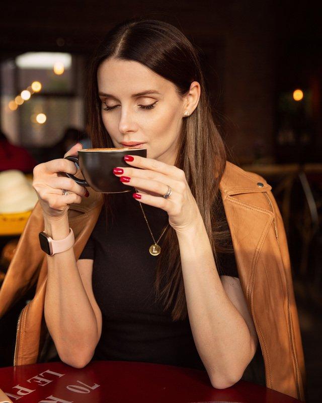 девушка, кофе, портрет, красиво LARISAphoto preview