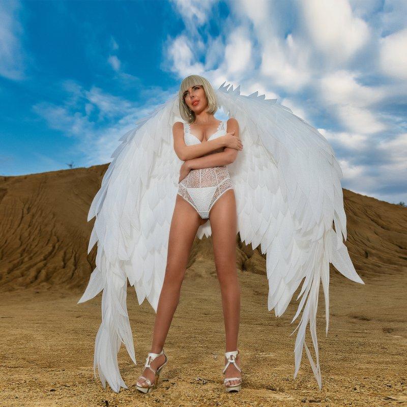 angel,pretty, fantastic, фото,девушка,гламур,красотка,melefara, photographer, photo, фотограф ,glamorous White angelphoto preview