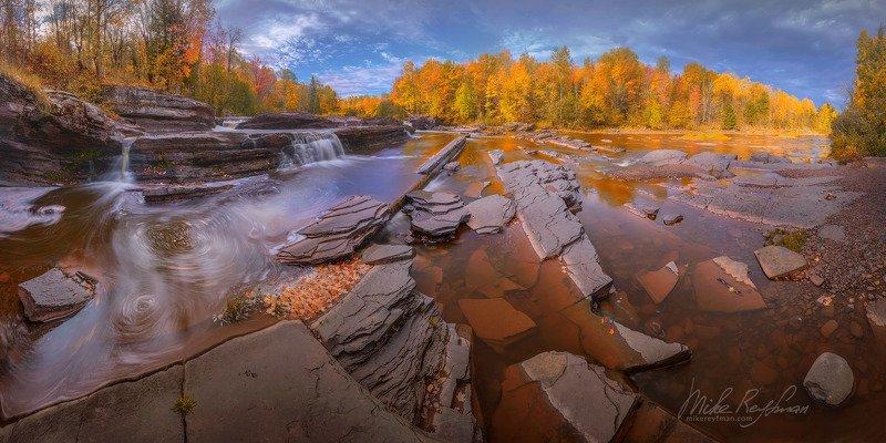 bonanza falls, upper peninsula, michigan, usa Bonaza Fallsphoto preview
