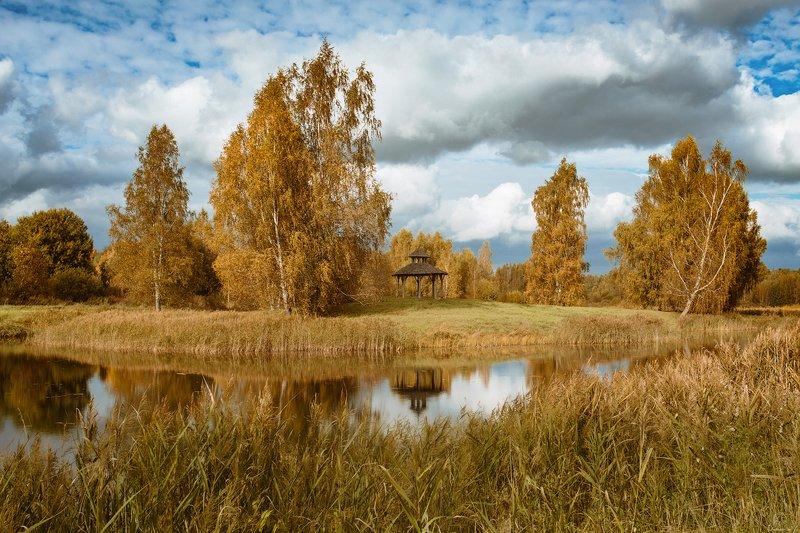 russia, пейзаж, осень, путешествия, природа Вдохновение поэта / Pskov regionphoto preview