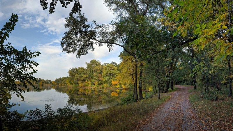 пейзаж,осень,дорога,октябрь,landscape,цвет,вода,релакс,тишина,природа,nature, Осенняя классикаphoto preview