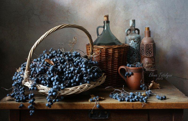 С виноградом фото превью